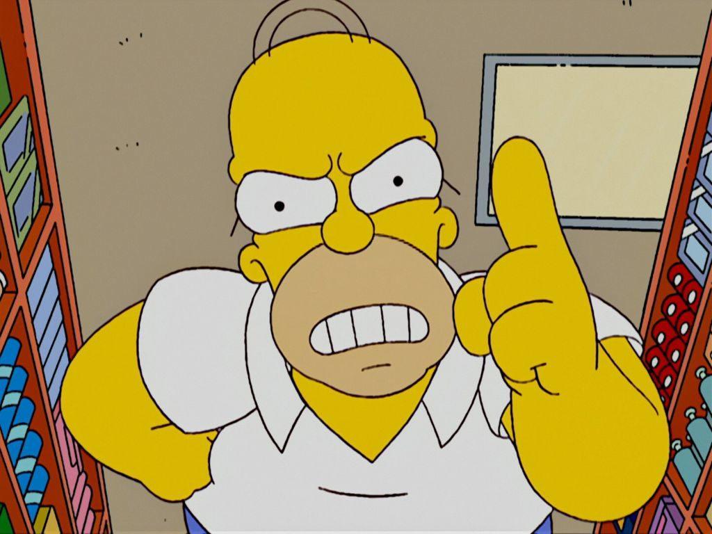 Гомер симпсон картинка прикол